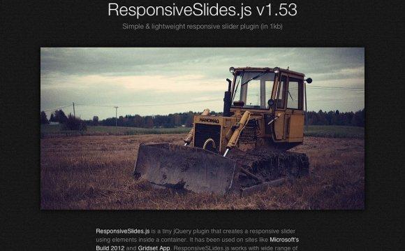 7. Responsive Slides