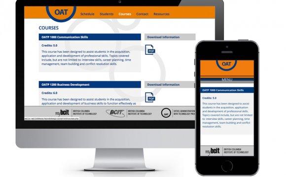 OAT Responsive Web Design