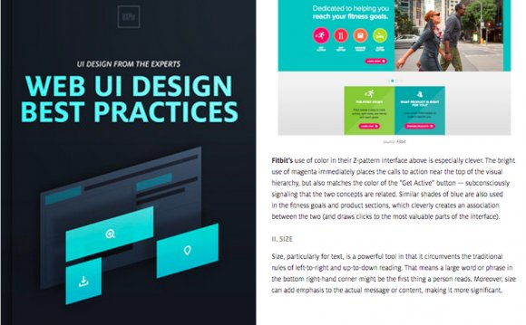 Web UI Best Practices by UXPin