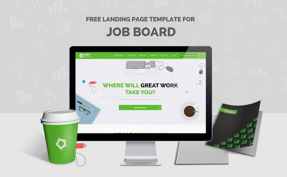 Free Landing Page Web Template