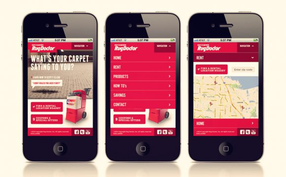 Of mobile website design