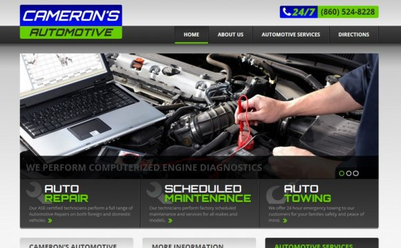 Cameron s Automotive Website