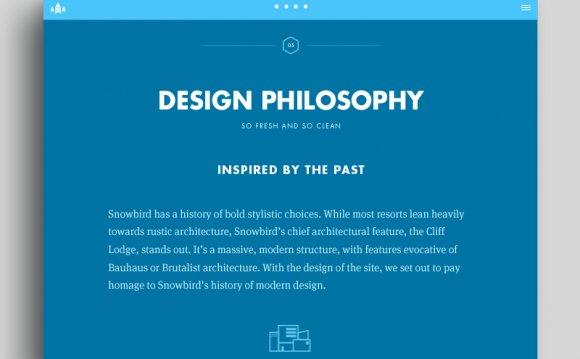 Web Landing Page Design #