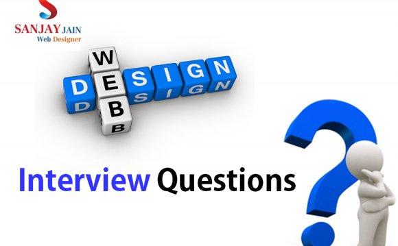 Web Design Interview Questions