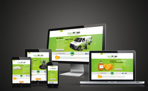 GreenWorks Responsive Website