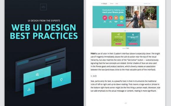 Web UI Design Best Practices: