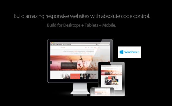 Website Builder, HTML editor