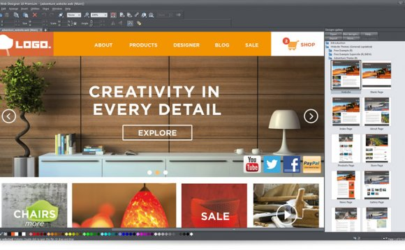 Xara Web Designer Templates Free Web Design