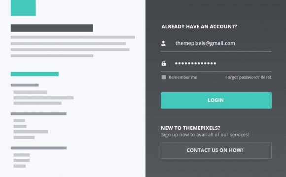 Web form design Inspiration