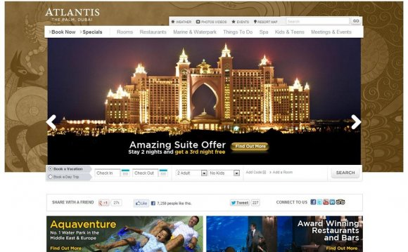 Best Hotel Web design