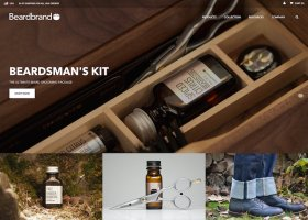 Beardbrand Ecommerce Website Design