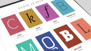 Best New Fonts of 2013