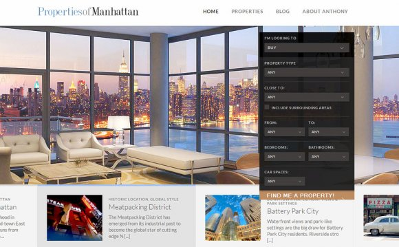 Best Real Estate Website design