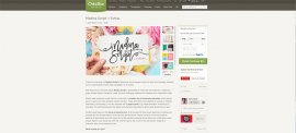 Ecommerce Website Design - Creative Market