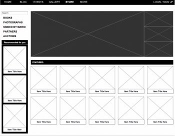 High Fidelitity Wireframe