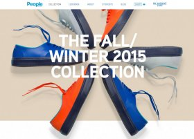 People Footwear Ecommerce Website Design
