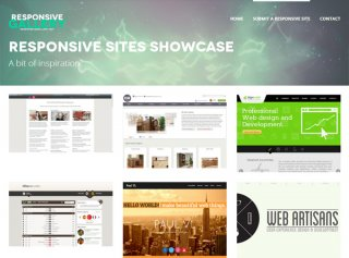 Responsive Sites Showcase