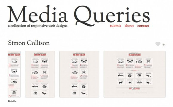Responsive Web design media queries