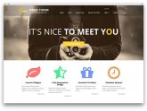 Responsive Web design Themes