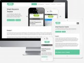 Simple Responsive Web design