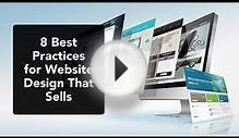 8 Best Practices for Website Design that Sells in 2015