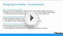 16.04 Mobile - Mobile Design Best Practices