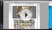 Adding a Photo Gallery In Adobe Muse Website Design Tutorial