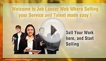 Job Lancer Web, Where Selling your Service and Talent made
