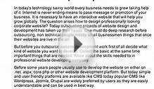 Looking towards outsourcing website design development