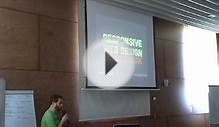 Responsive Web Design: everything has change - Javier Usobiaga