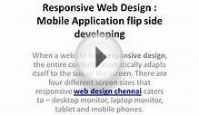 Responsive Web Design | Mobile Application Flip Side