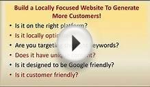 Small Business Website Design Mistakes | Local Internet