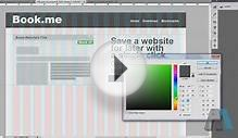 Website Design Tutorial: Photoshop to HTML5 and CSS the